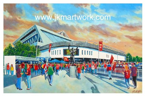ashton gate going to the match print